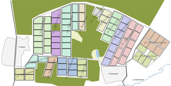 Схема нашего поселения